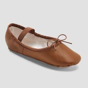 Girls Ballet Flat Slipper Danskin Freestyle NWT